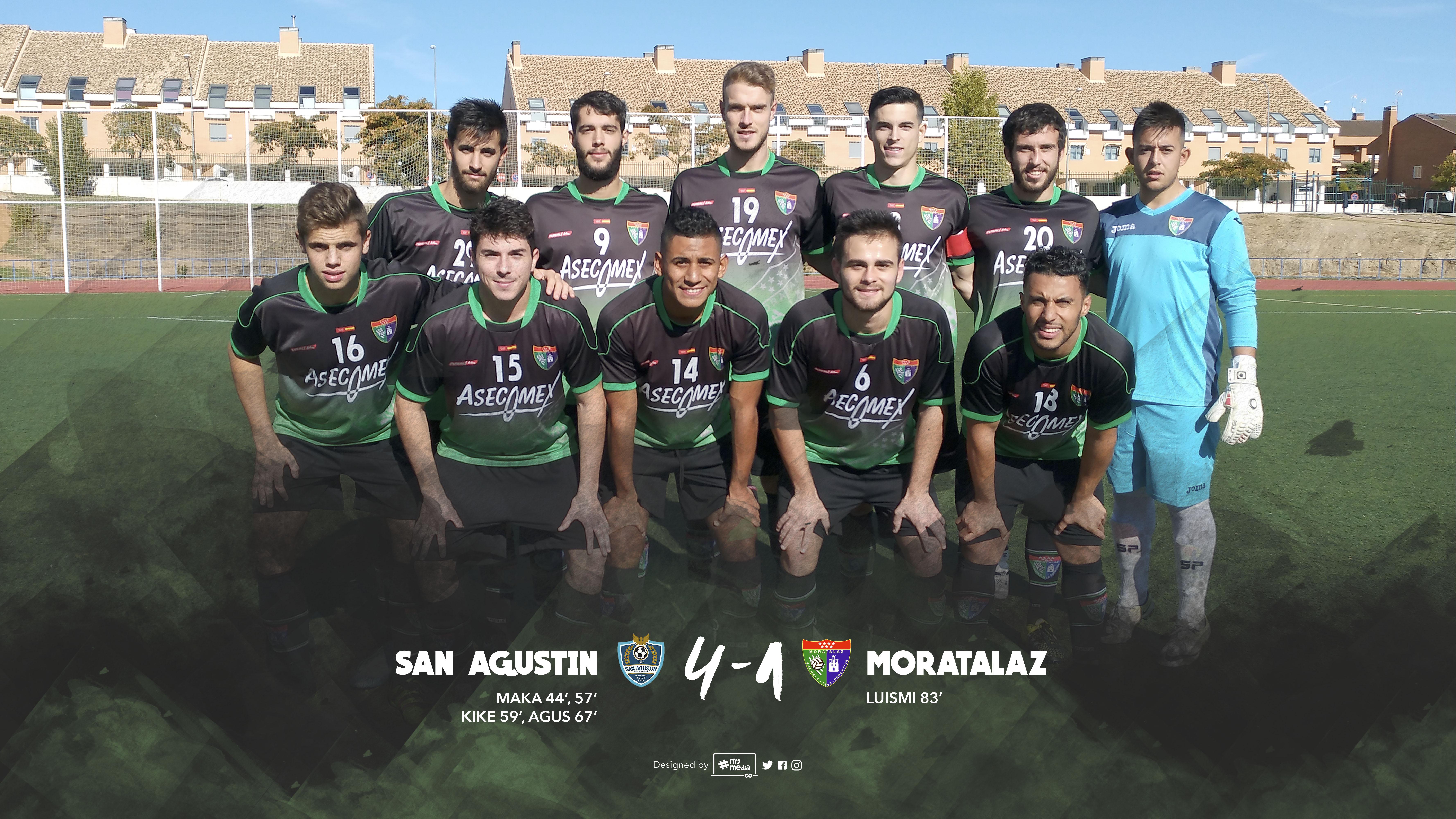 Crónica y fotos del partido CF San Agustín de Guadalix 4 – 1 Primer Equipo