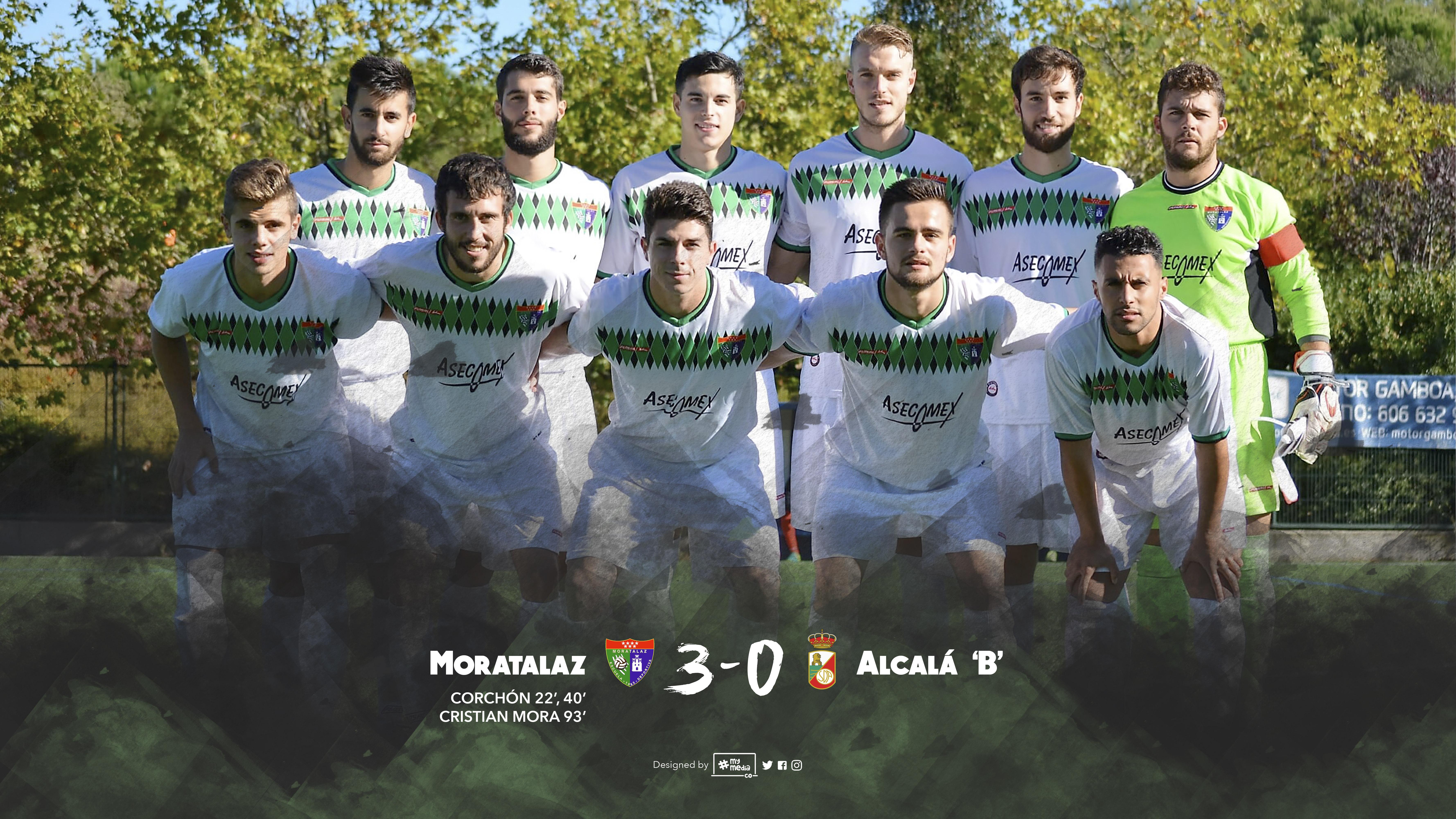 Crónica, fotos y vídeo resumen del partido Primer Equipo 3 – 0 RSD Alcalá B