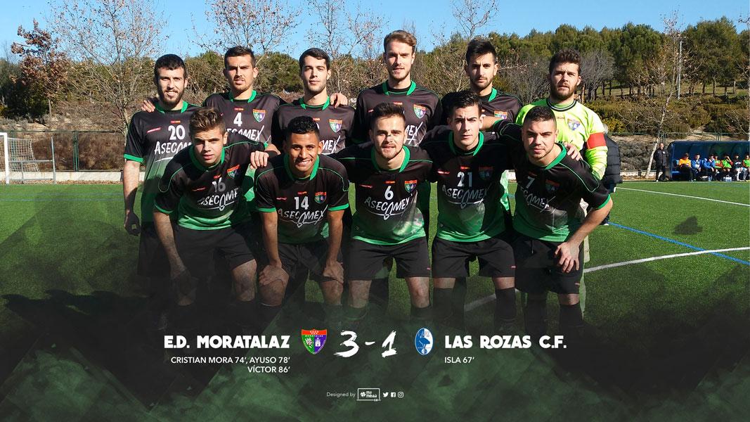 Crónica y fotos del partido Primer Equipo 3-1 Las Rozas CF