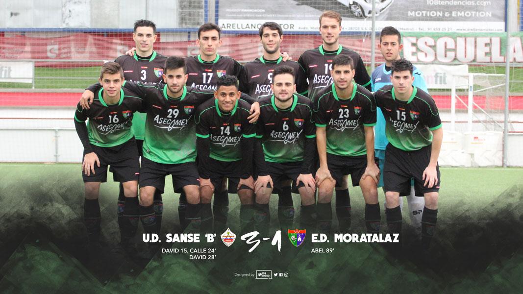 Fotos del partido UD San Sebastián de los Reyes B 3-1 Primer Equipo