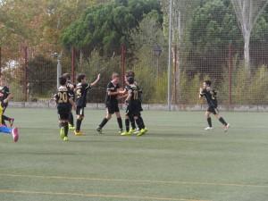 Celebrando el gol