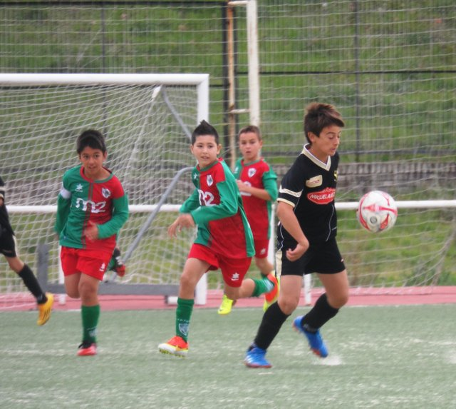 Águilas de Moratalaz 0 – 2 EDM Alevín B