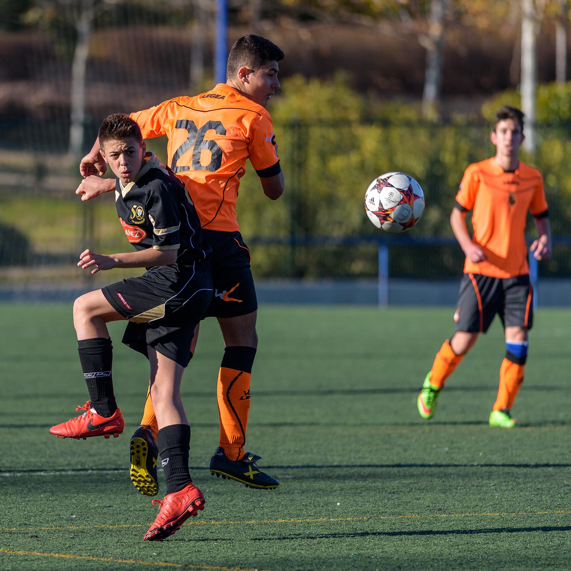 Fotos del EDM Cadete E 1 – 0 CD Sport Villa de Vallecas