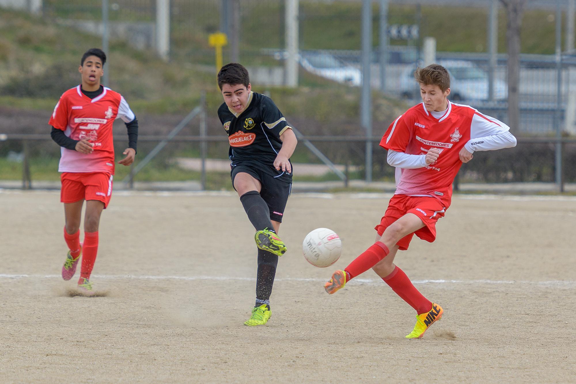 Fotos del partido de liga Pozo Sport 0 – 1 EDM Cadete E