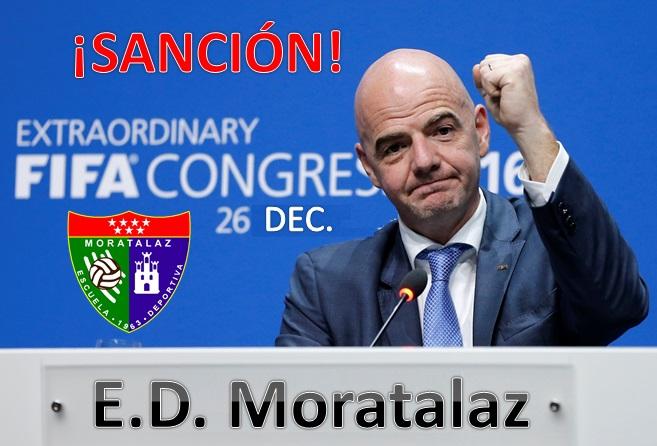 La FIFA sanciona a la EDM dos años sin poder fichar