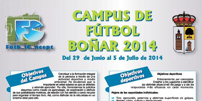 Campus de Fútbol en Boñar, ideal para este verano fuera de Madrid