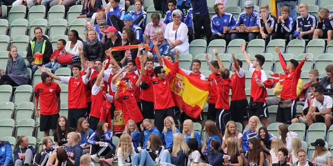 Reportaje gráfico de las andanzas de juvenil en la Gothia Cup