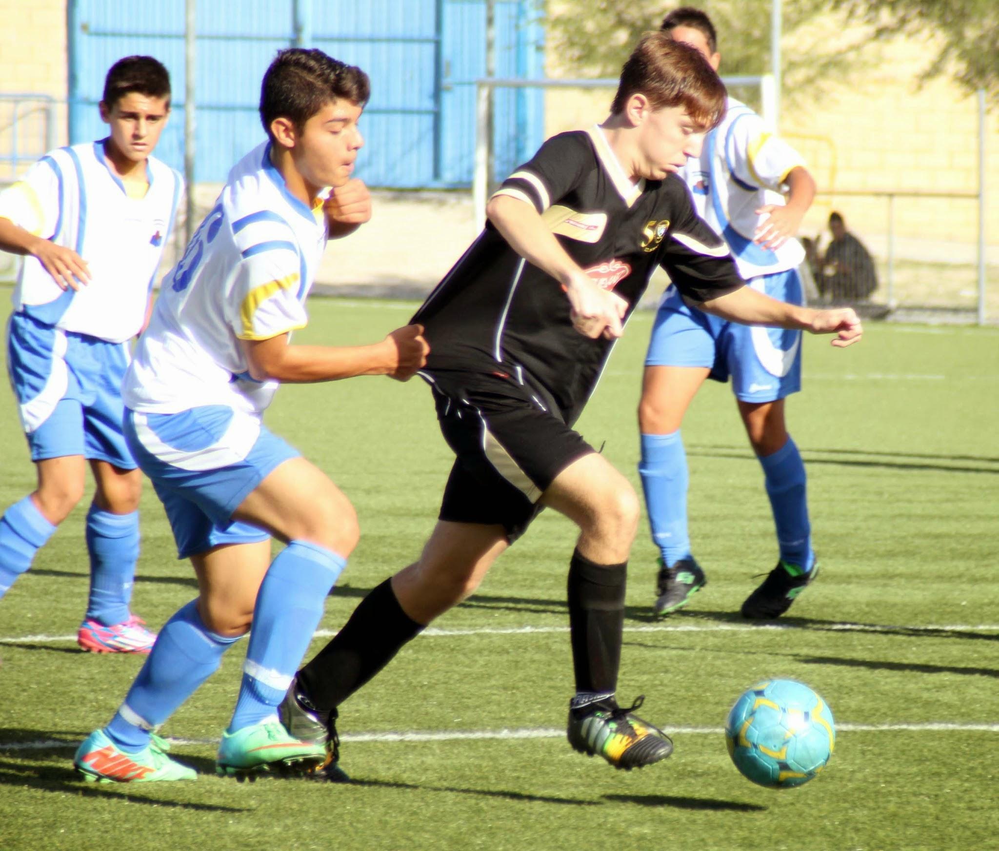 Vallecas CF B 2 – 2 EDM Cadete B