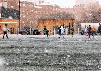Fotos del partido, suspendido al descanso, Infantil 'F' 3 -0 E.D.M. San Blas