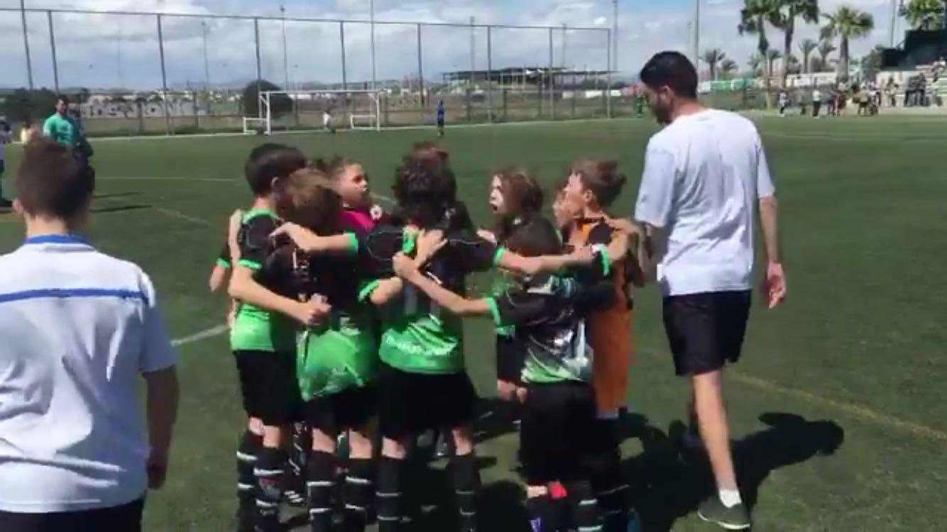 Resumen de los equipos de la escuela en Torrevieja International Cup