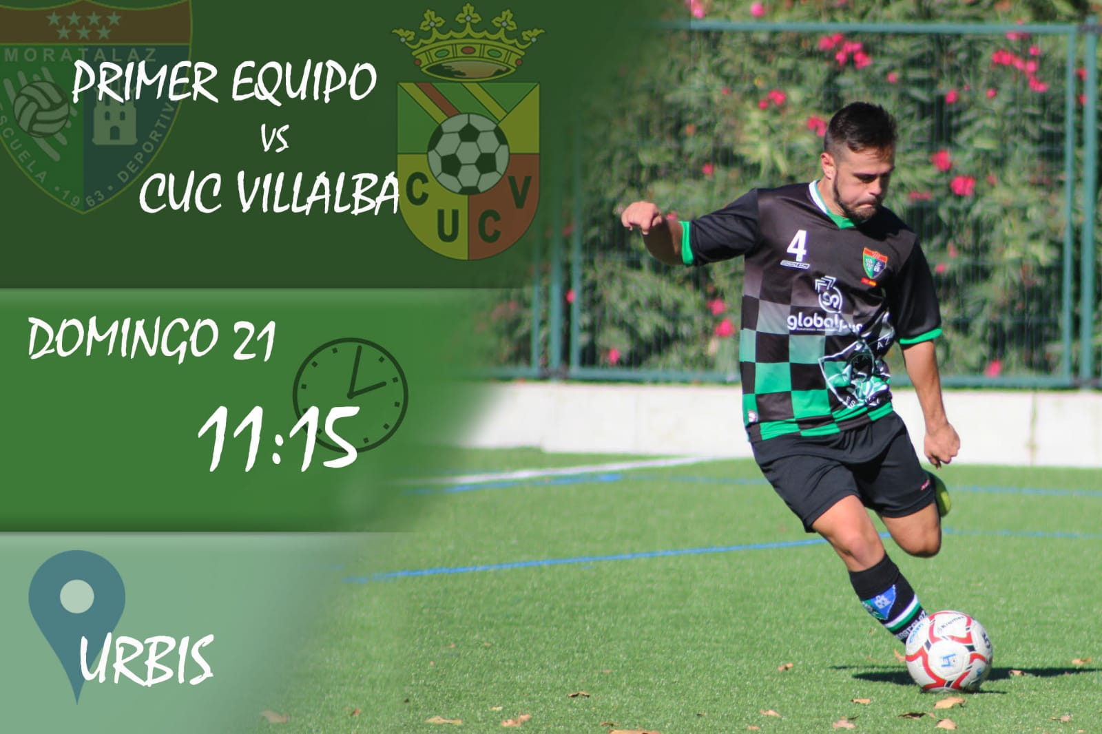 PREVIA | Primer Equipo – Unión Collado Villalba-Pecunpay