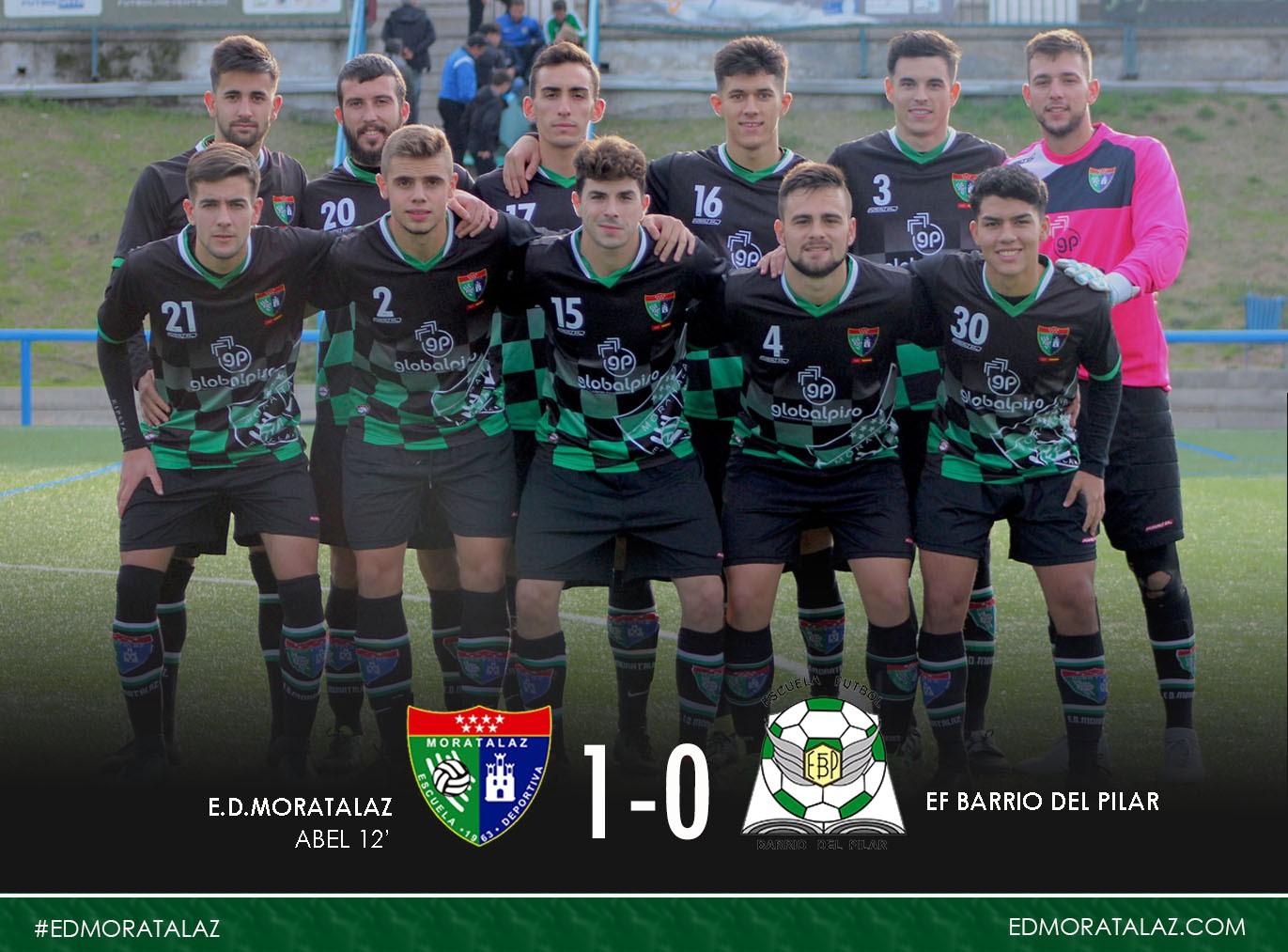 Fotogalería y goles del partido entre el Primer Equipo y EF Barrio del Pilar