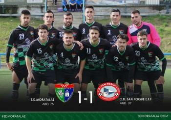 Fotogalería y goles del partido entre el Primer Equipo y CD San Roque
