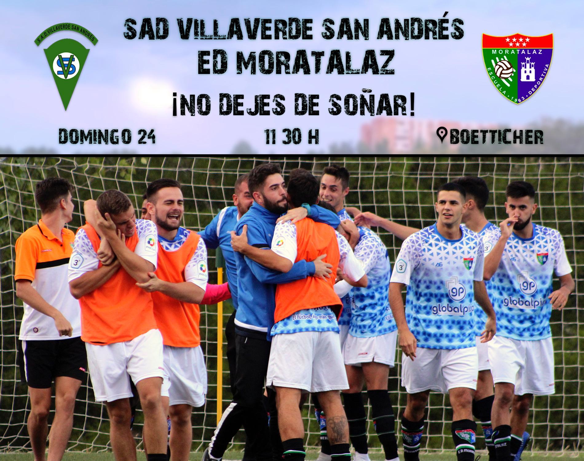 Previa | SAD Villaverde San Andrés – Primer Equipo