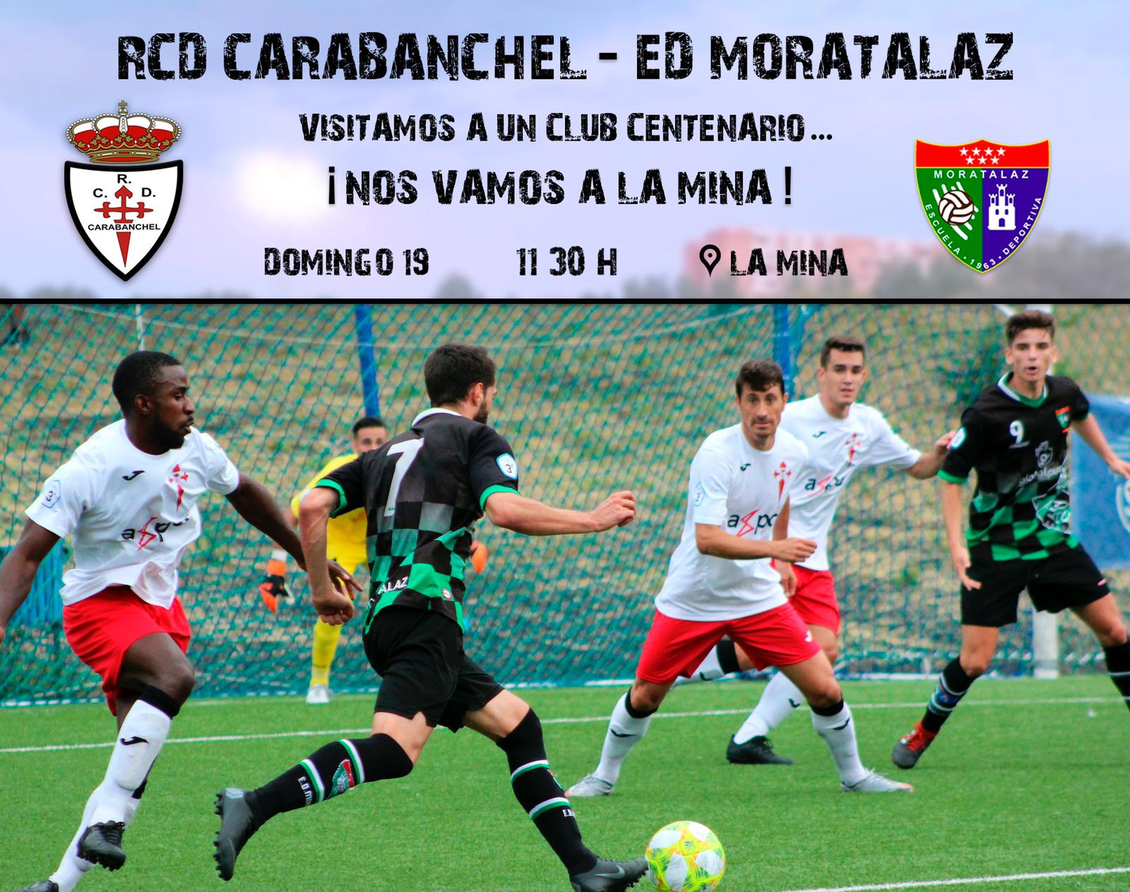 Previa | Real CD Carabanchel – Primer Equipo