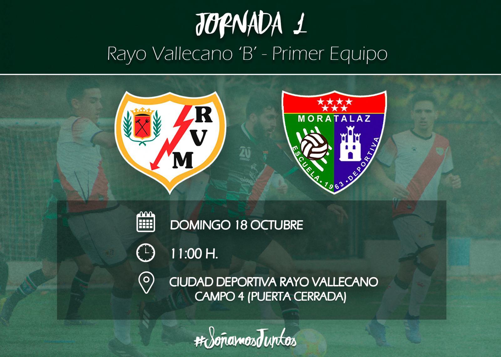 Previa | Rayo Vallecano 'B' – Primer Equipo