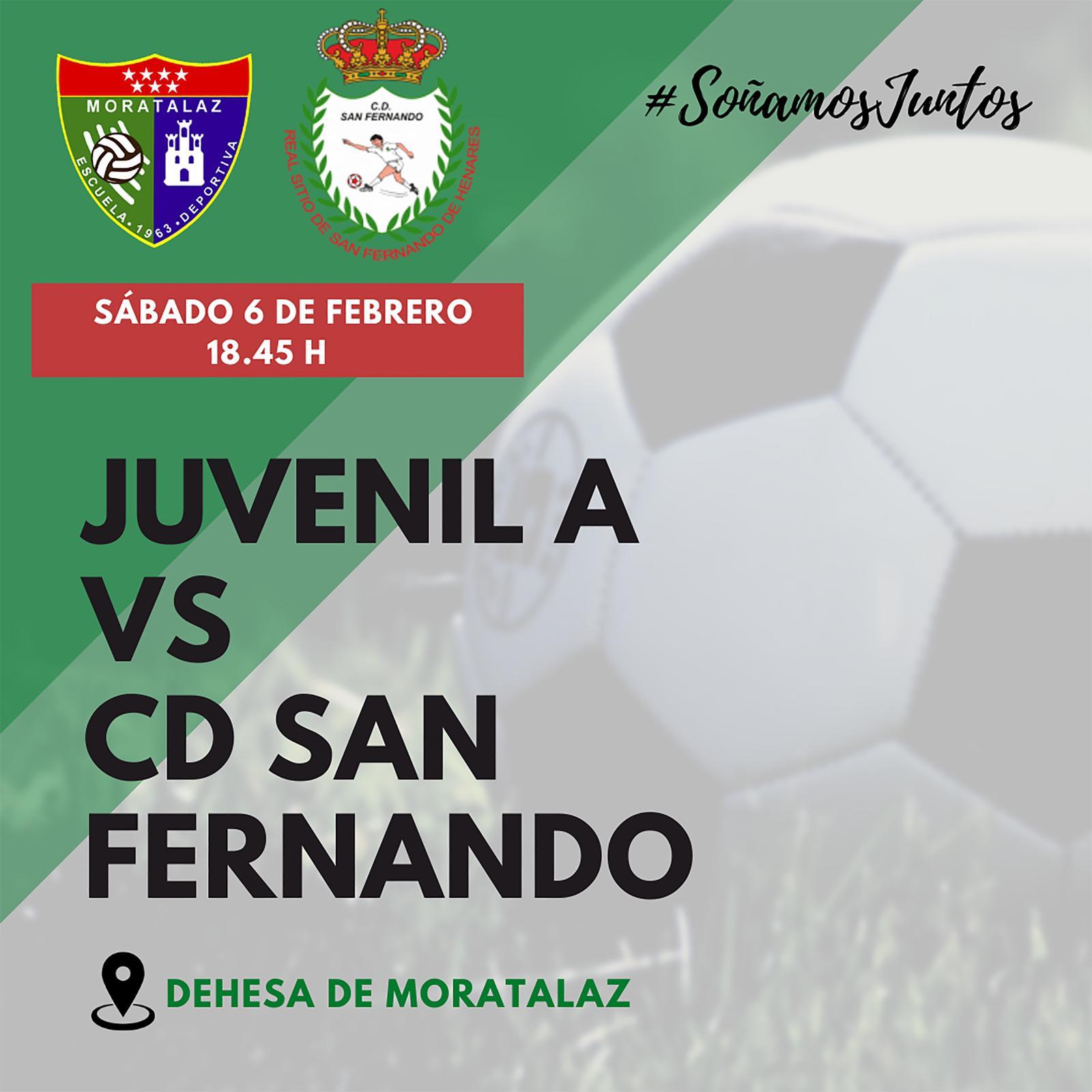 PREVIA | Juvenil A – CD San Fernando