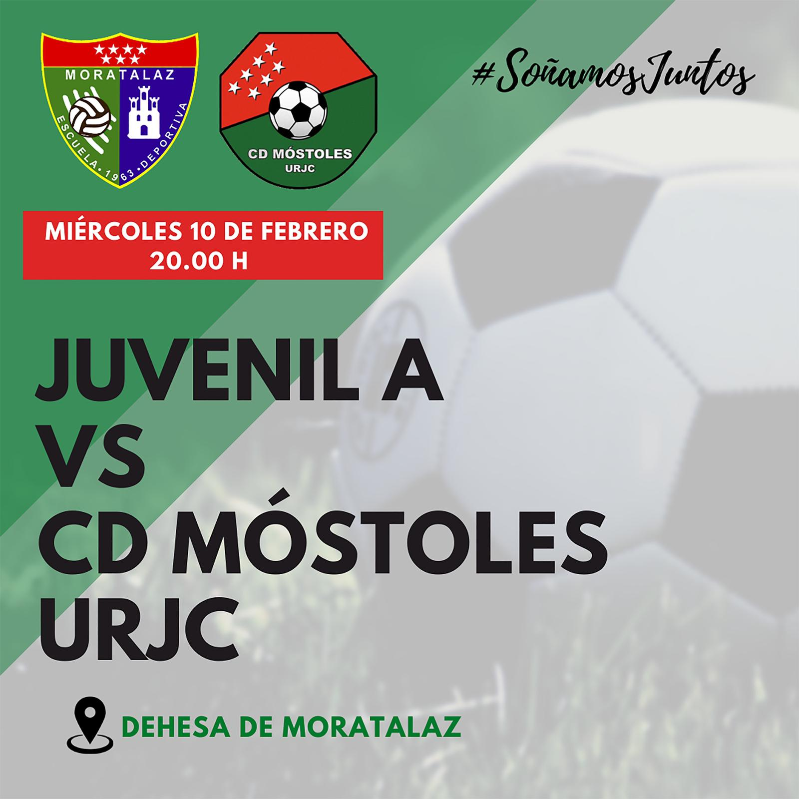 PREVIA | Juvenil A – CD Móstoles URJC
