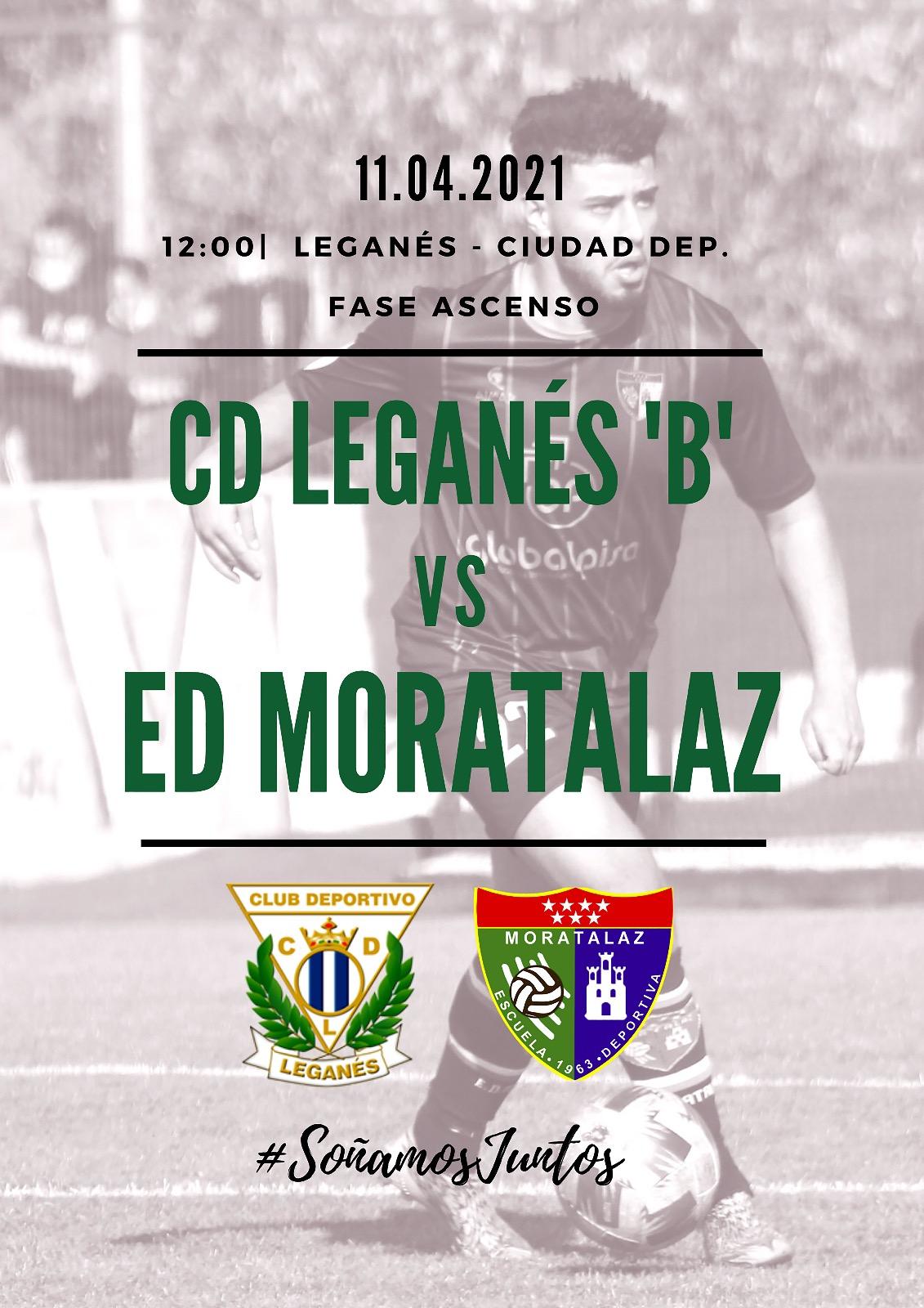 PREVIA | CD Leganés 'B' vs Primer Equipo