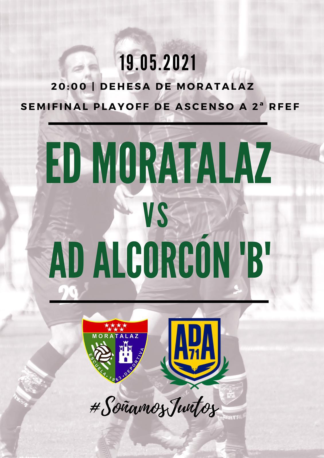 PREVIA   Primer Equipo – AD Alcorcón 'B'
