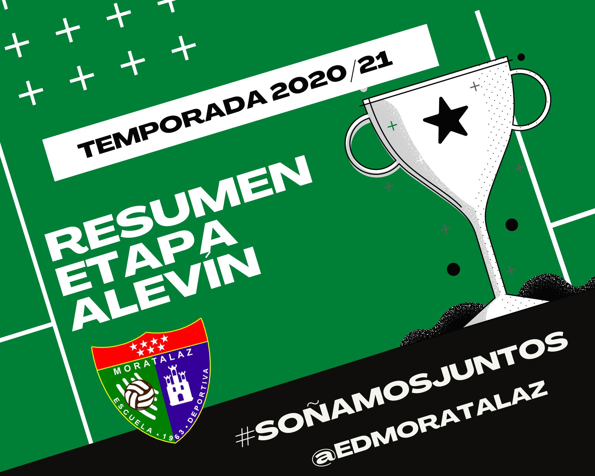 Temporada 2020/21 – Resumen de la Etapa Alevín
