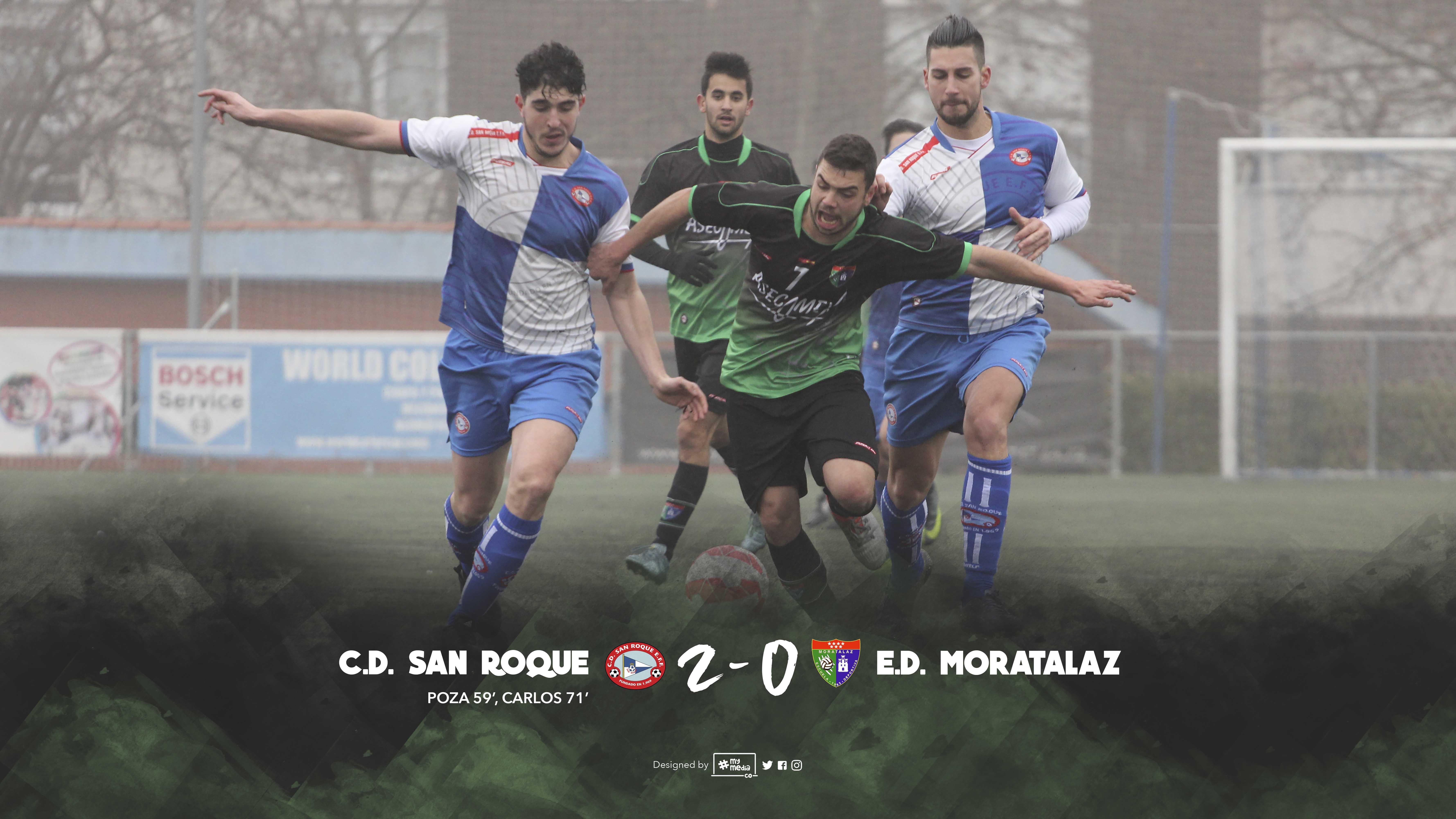 Fotos del partido CD San Roque EFF 2-0 Primer Equipo