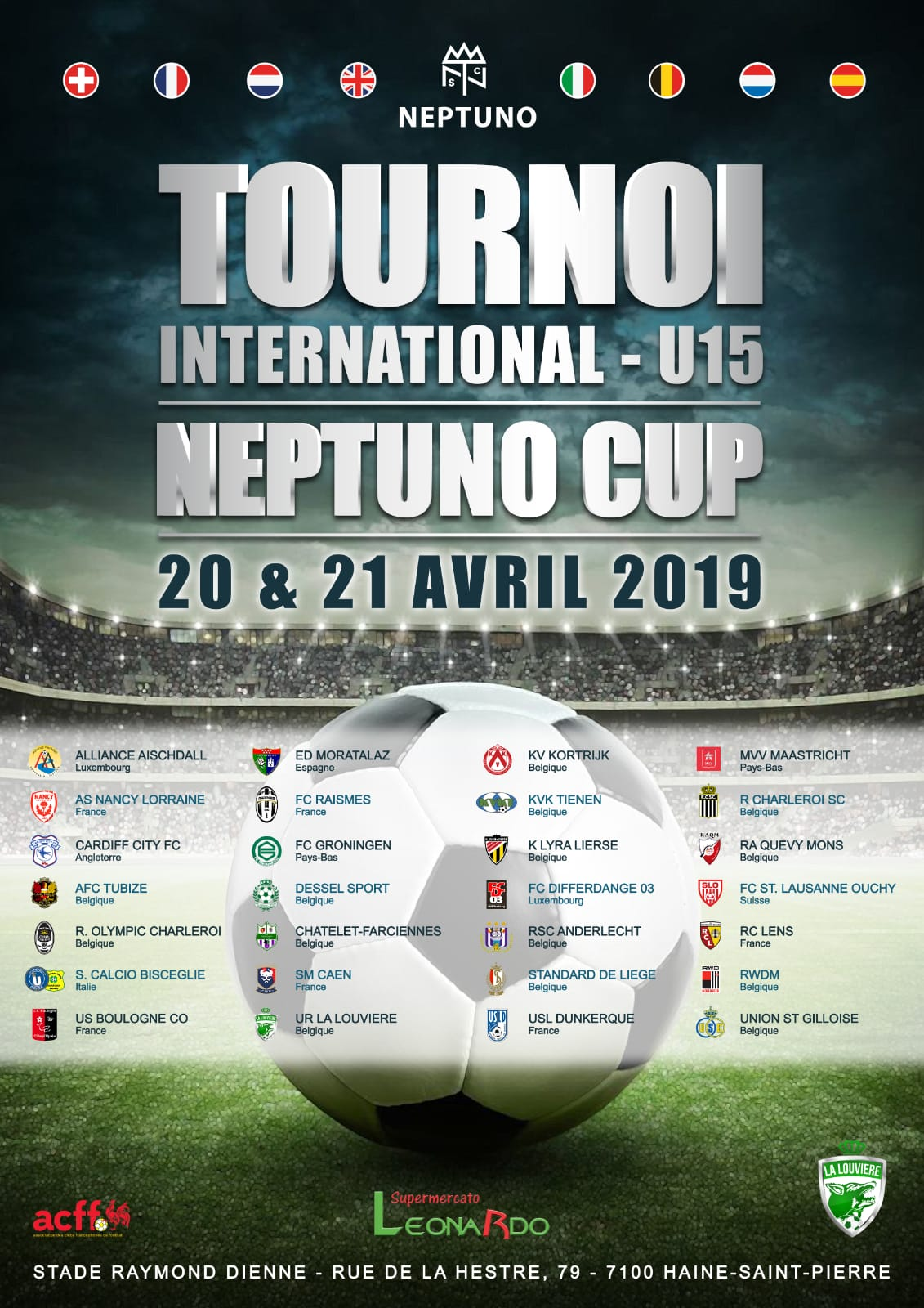 La EDM viaja hasta Bélgica para disputar la Neptuno Cup
