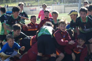 El Alevín A, finalista en la Real Sitio Cup