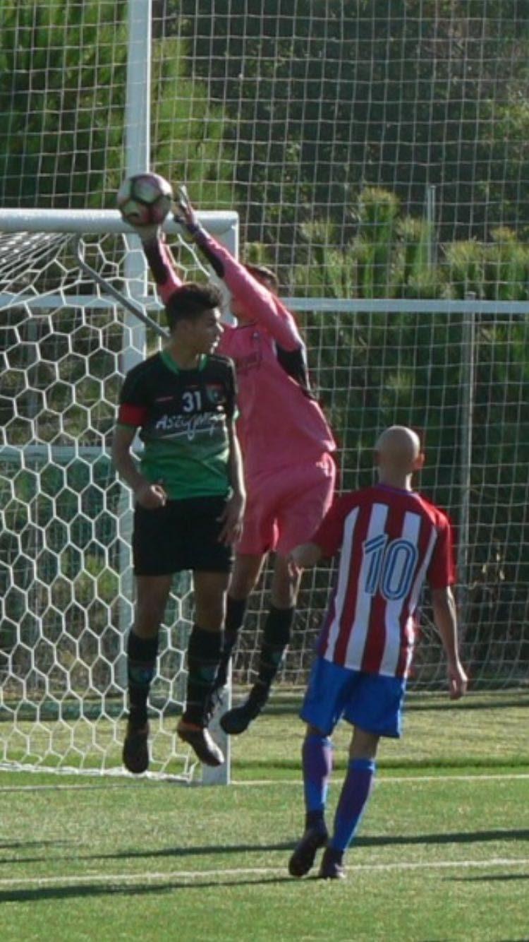 Crónica y fotos del partido Atlético de Madrid A 5 – 0 EDM Cadete A