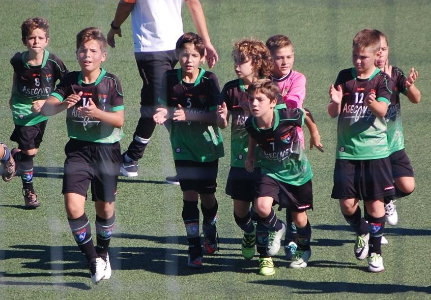 Crónica del partido AD Sporting de Hortaleza A 1 – 1 Benjamín A