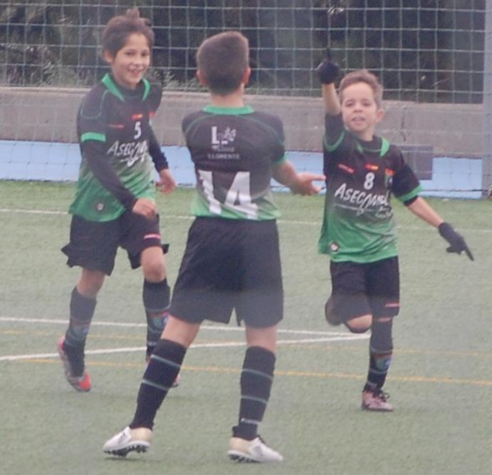 Crónica del partido Benjamín A 3 – 1 Sporting de Hortaleza B