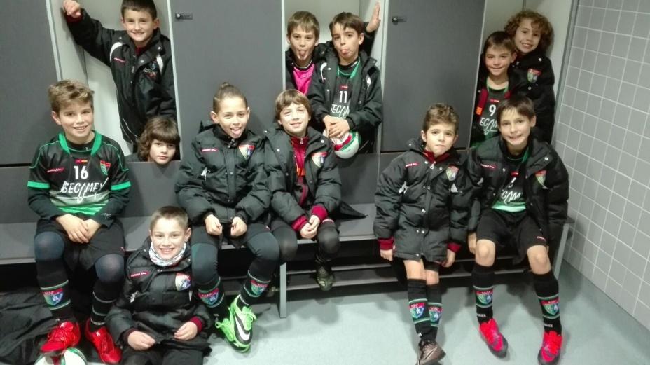 Crónica del partido Benjamín A 3-1 AD Villa Rosa A