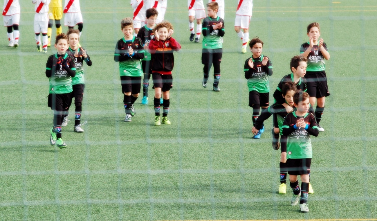 Crónica del partido Benjamín A 1-0 SAD Fundación Rayo Vallecano A