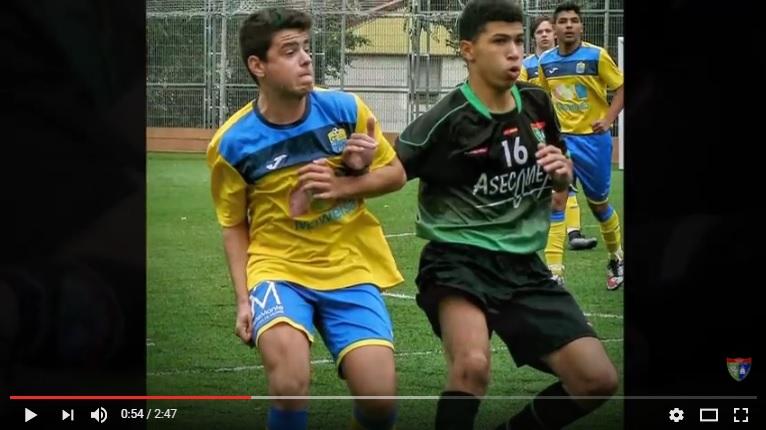Crónica y vídeo del partido DAV Santa Ana A 0 – 4 Cadete A