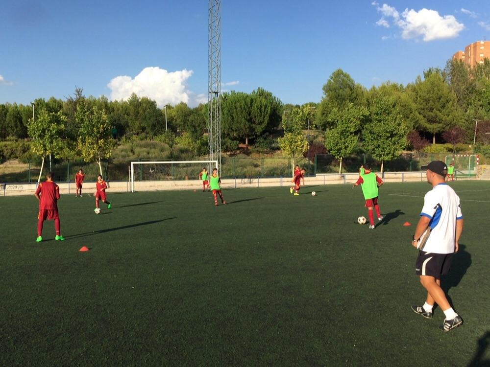 Crónica del partido de liga Vallecas CF B 0 – 2 EDM Cadete B