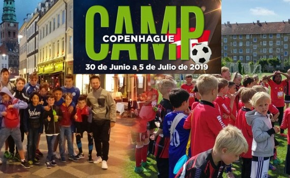 ¡Experiencias en el Camp de Copenhague de Fútbol In Events!