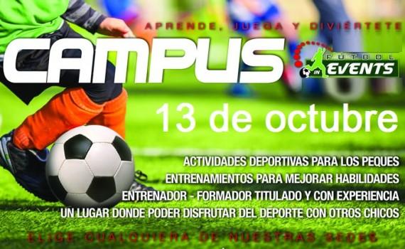 El próximo viernes 13 de octubre realizaremos un Campus de un día