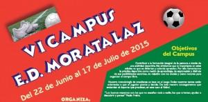 Cartel del Campus de Verano de la EDM 2015