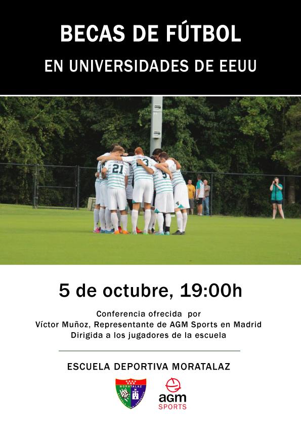 El Urbis alojará el lunes una conferencia sobre las becas de fútbol en Estados Unidos