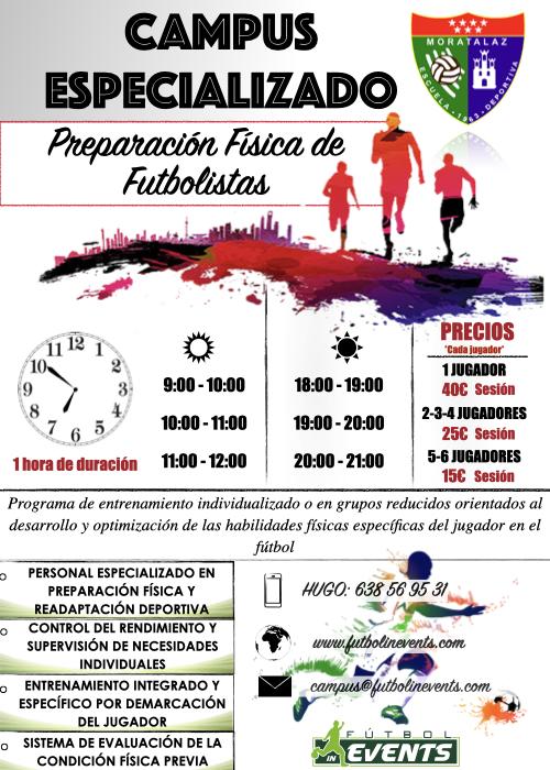 Campus Especializado | Preparación Física de Futbolistas