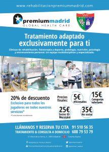 Cartel fisioterapia Premium