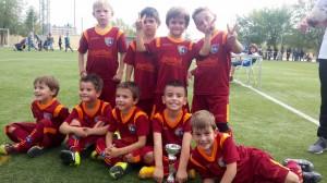 El Chupetín B gana el torneo Villa de Vallecas