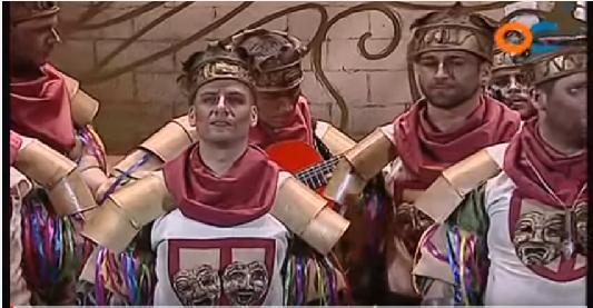 Aleccionadora chirigota de la comparsa Los Profanos en los Carnavales de Cádiz sobre el fútbol base