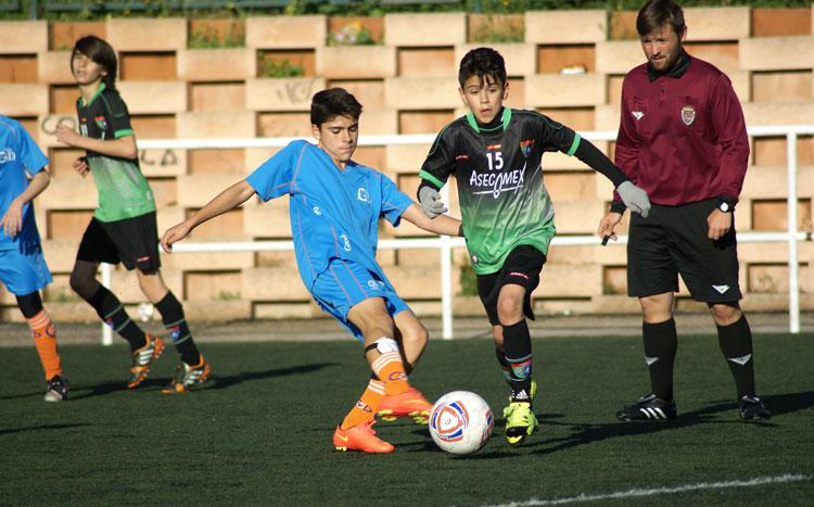Fotos del partido de liga EDM Infantil F 2 – 5 Gredos San Diego A