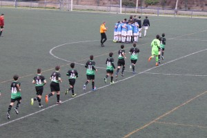 Fotos del partido de liga EDM Infantil A - CD Vicálvaro A