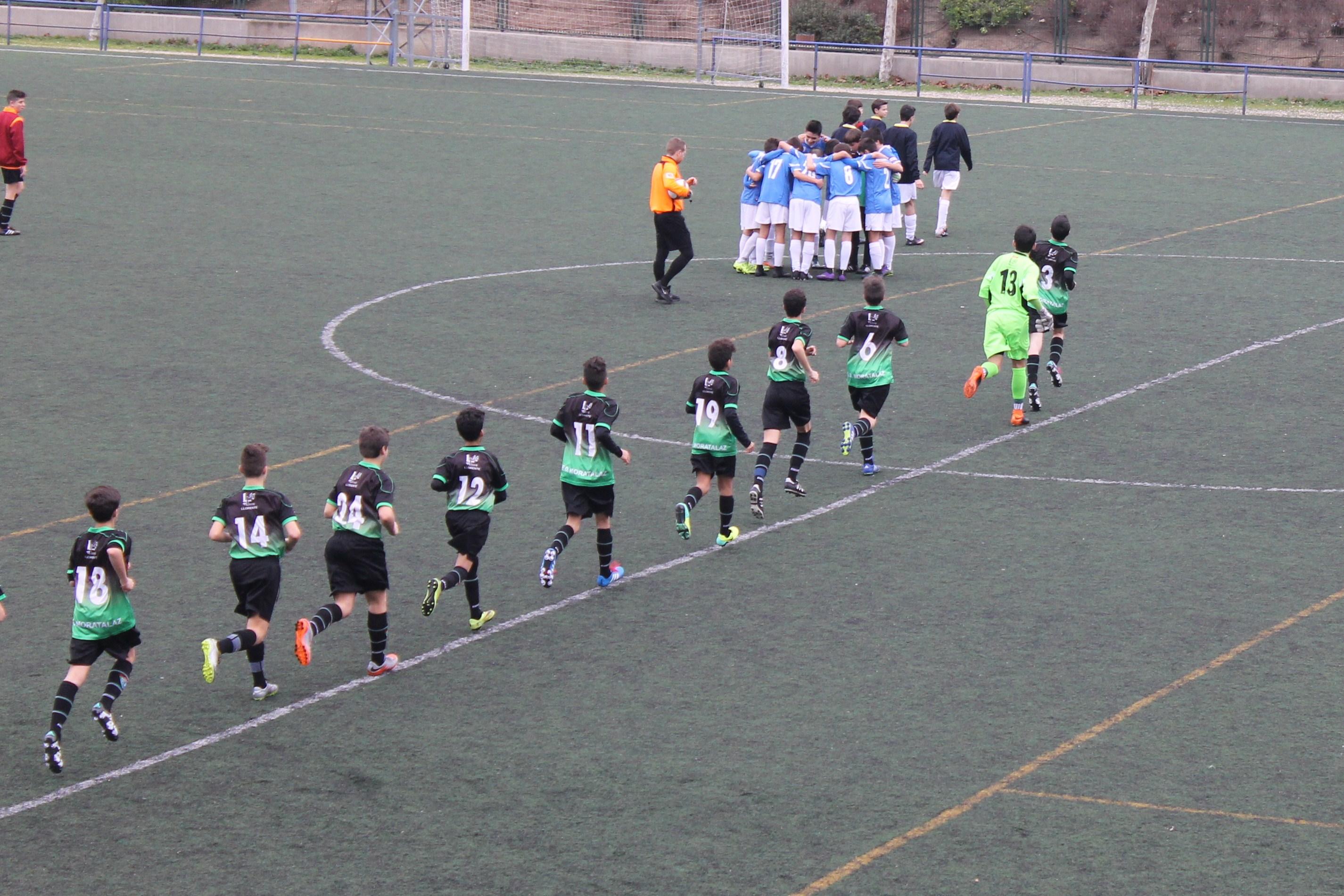 Fotos del partido de liga EDM Infantil A 3 -2 CD Vicálvaro A