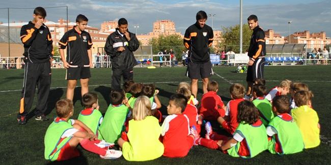 """Elías García: """"Lo importante en la etapa de Iniciación es que los chicos se convenzan de que es el deporte que les gusta"""""""