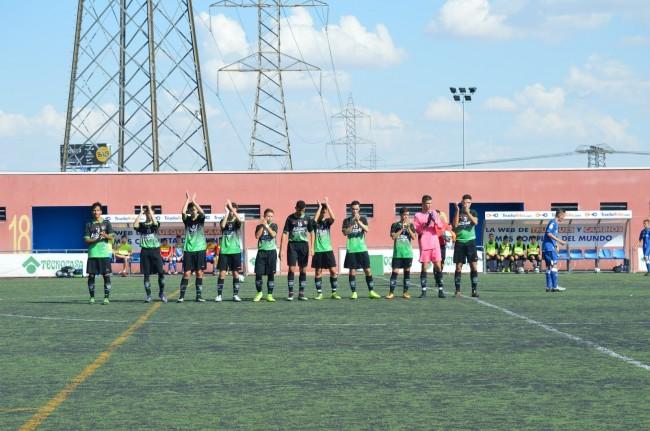 Foto del partido de liga Getafe B - EDM Cadete A