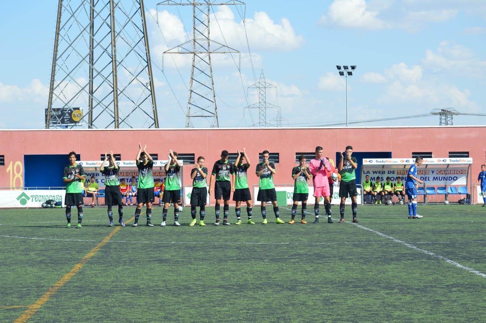 Crónica y fotos del partido de liga Getafe B 3 – 1 EDM Cadete A