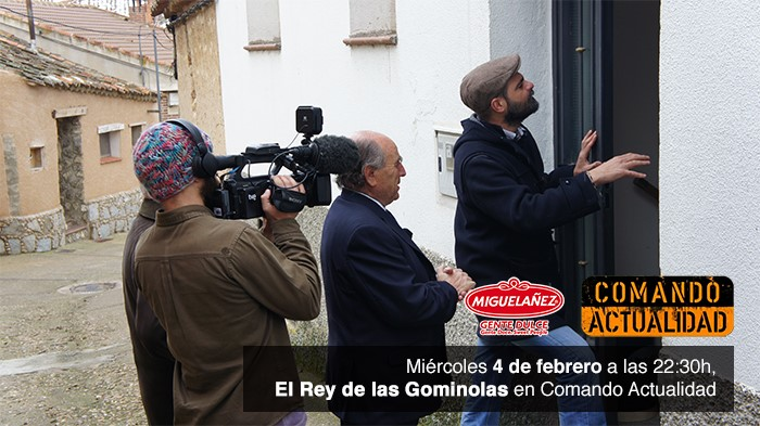 Reportaje sobre Migueláñez en el programa de TVE Comando Actualidad